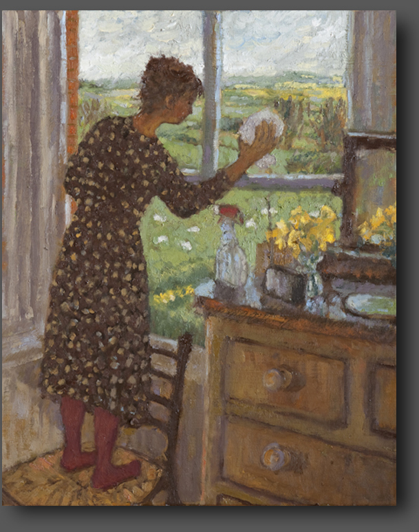 Cleaning windows 50x40cm