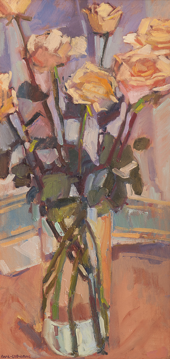 Tall Roses 30x60cm
