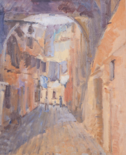 A back-street in Venice 60x75cm