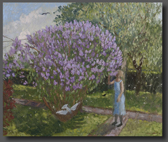 Lilac time 50x60cm