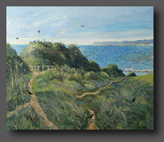 Birds Nesting On East Hill 86x102cm