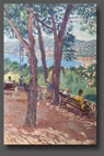 View on Juan Les Pins 60x40cm